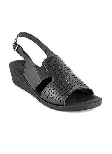 Muya Gwen Anatomik Kadın Sandalet Siyah